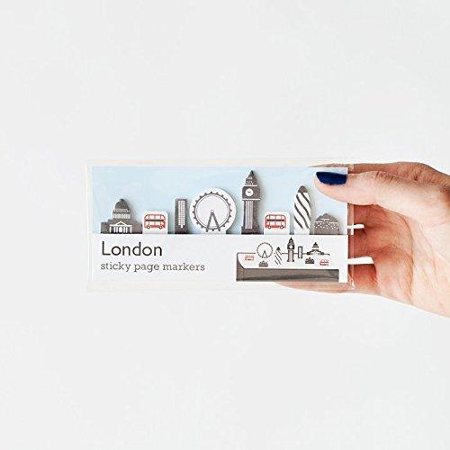 Superbritánico - Marcadores London skyline (160 adhesivos)