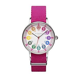 Cander Berlin MNA 1030 M Kinderarmbanduhr Kinderuhr Armbanduhr Mädchen Armbanduhr Uhr 12-/24-Stunden