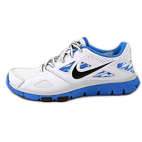 Nike  Flex Supreme Tr 2, Chaussures de sport homme Blanc / noir / bleu / blanc (blanc / noir - bleu photo - blanc)