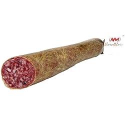 SALCHICHÓN CULAR Extracon IBERIAN Kassler IN BODEGA natürlichen und traditionellen MANUFACTURE Vakuumverpackt 1 PART 500 gr