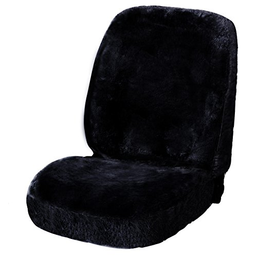woltu as7335sz luxury lambskin wool fleece car seat cover cushion sheepskin car seat cover for. Black Bedroom Furniture Sets. Home Design Ideas
