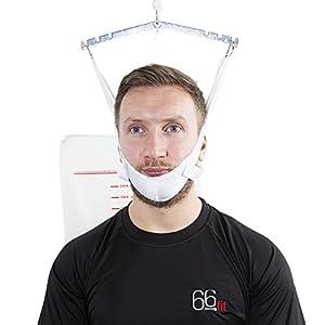 66fit Nackentraktionsgerät für die Tür – Halsdehnung für verbesserte Haltung
