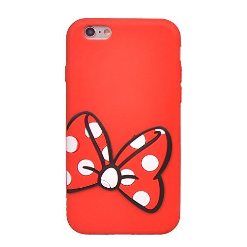 "iPhone 6/ 6s (4.7"") Coque,COOLKE Mode 3D Style Cartoon Gel Soft silicone Coque Housse étui Case Cover Pour Apple iPhone 6/ 6s (4.7"") - 007 003"
