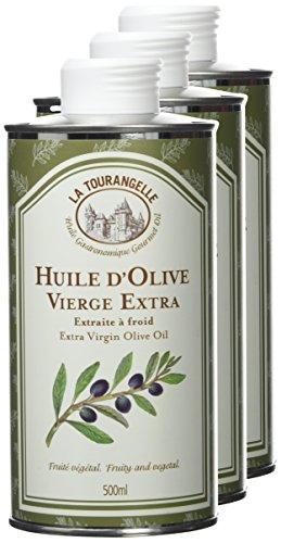 La tourangelle Huile d'Olive Extra Vierge 500 ml - Lot de 3