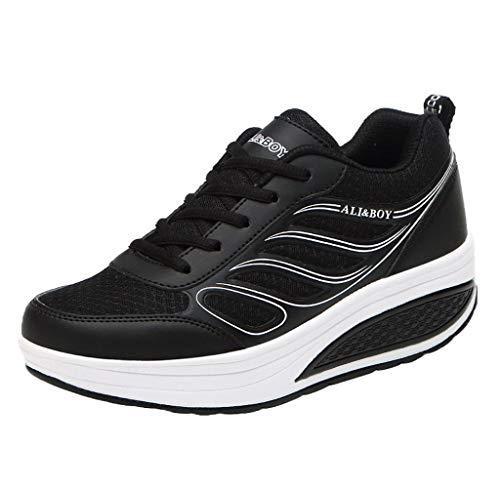 Jimmackey Scarpe da Running Donna Scarpe da Corsa Donna Sneakers Zeppa Interna Scarpe