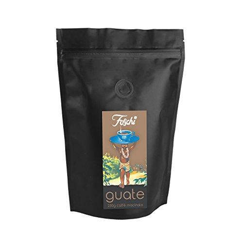 Confezione da 250g di caffè macinato foschi qualità