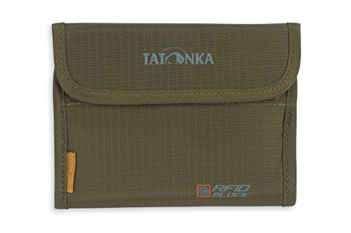 Tatonka Geldbeutel Euro Wallet RFID B olive, 10 x14 x 2 cm