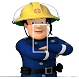 Fireman Sam Light Switch Sticker Kids/Bedroom