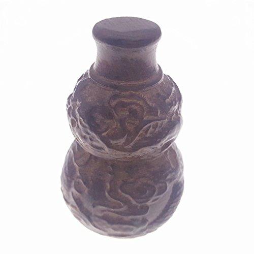 Madera hand-craved Scuplture yeso Estatua Figura Agarwood Aquarius ...