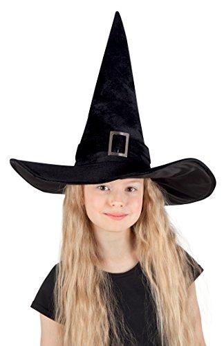 Boland 00157 - Kinderhut Hexe Kendra, Hüte und weitere Kopfbedeckungen (Schnalle Hexe Schwarz Hut)