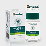 AyurSlim pour la perte de poids - Soutien de gestion de poids entièrement naturel - aide à brûler les graisses et à maintenir des niveaux de cholestérol sains - contient Garcinia Cambogia - 60 capsules par Himalaya (depuis 1930)