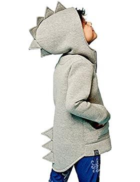 Kven Kinderkleidung Dinosaurier Stil Baby Hoodie Kind Herbst Langarm Tops