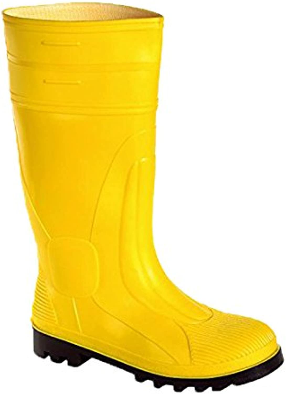 teXXor 651046 pvc safety Stiefel S5  Größe 11  gelb