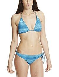 Bench Triangle Jaquard Bikini, Maillot de Bain Deux Pièces Femme