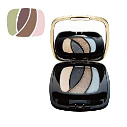 LOreal Paris Color Riche Les Ombres Eye Shadow Quads, Jade Moonlight