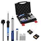 GHB 60W Soldering Iron Kit Electronics Welding...