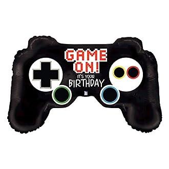 Betallic 91,4 cm Birthday Game Controller Foil Palloncini