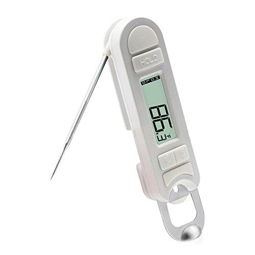 zantec plegable magnético termómetro con abridor de botellas para chimenea barbacoa cocina...