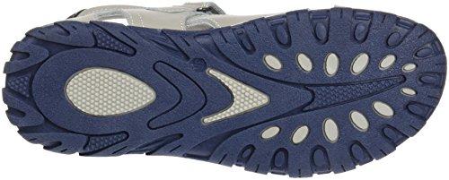 Sandale en cuir pour enfant Gris