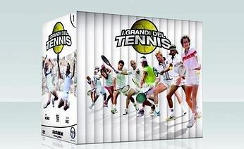 I GRANDI DEL TENNIS- 16 DVD usato  Spedito ovunque in Italia