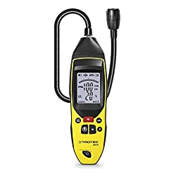 TROTEC BG40 Portable Multifunctional Gas Detector Gas Leak Tester - Optical, acoustic and vibration alarm from TROTEC