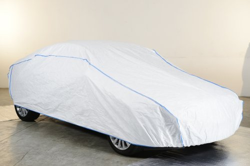Preisvergleich Produktbild Autoabdeckung Vollgarage Ganzgarage car cover Citroën C4 AIRCROSS in weiß exclusiv aus Tyvek mit Lagerbeutel