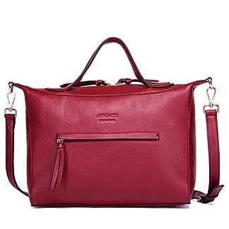 41w3nburmmL. SS324  - Bolsos de cuero ocasionales de las mujeres Moda Elegent Tote Bag Bolso diagonal Bolsa de gran capacidad de cercanías