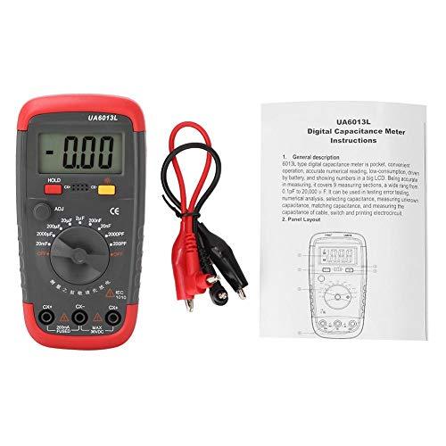 NAROOTE UA6013L Professionelle Handheld LCD Digital Kapazit?tsmesser Kondensator Meter Tester