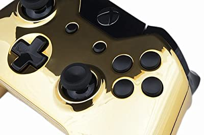 Xbox One Custom Controller - Gold & Black Edition
