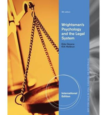 [Wrightsman's Psychology and the Legal System] [by: Kirk Heilbrun]