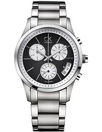 Calvin Klein K2247107–Orologio da uomo, cinturino in acciaio inox colore argento