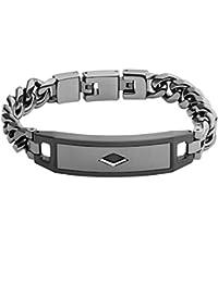 Fossil–Bracelet Acier Inoxydable Gris jf02366793