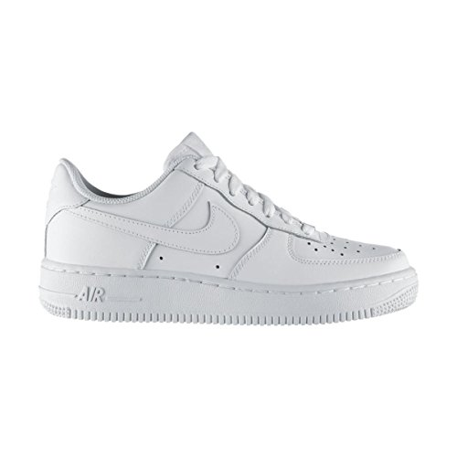 quality design f9200 ffb3b Nike Unisex Kids  Air Force 1 Low-Top Sneakers off-white (White