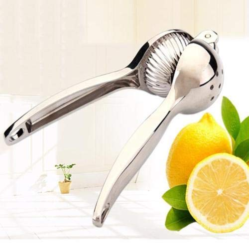 DDYX - Abrazadera de limón de Acero Inoxidable - Exprimidor de limón Manual - Exprimidor de Naranja de limón - Exprimidor de Frutas Gadget de Cocina