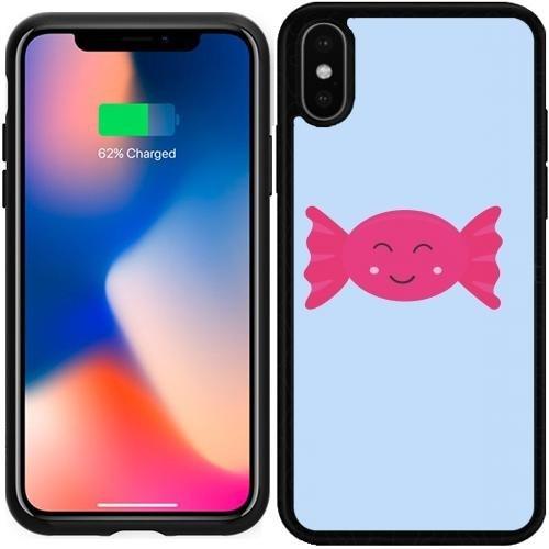 (SilikonHülle für Iphone X - Pink Candy Bonbon Mit by ilovecotton)