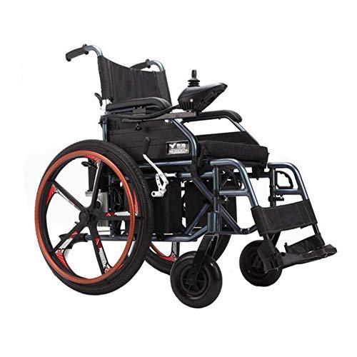 Älterer Untauglicher Elektrischer Rollstuhl Faltbarer Intelligenter Ultra Beweglicher Aluminiumlegierungs-Material-Haltbarer Motorisierter Rollstuhl-Doppelter Motor Hochleistung für Verschiedene Unta -