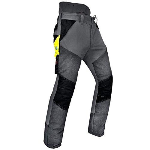 Pfanner Schnittschutzhose Kev-Extrem Klasse 1, Farbe:Grau;Größe:XS (kurzgr.)