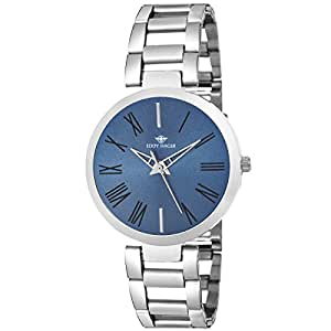 Eddy Hager Analogue Blue Dial Women's Watch - EH-448-BL