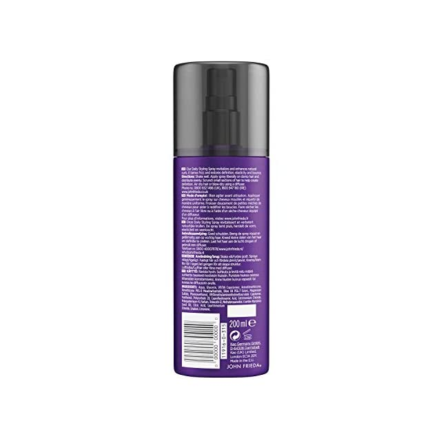 ... John Frieda Frizz-Ease Spray Coiffant Tenue Boucles de Rêve 200 ml 230869ec502
