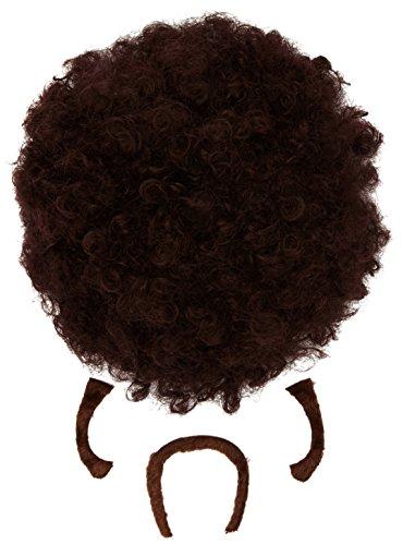 Widmann 01841 - Perücke Pulp Afro (Uma Fiction Kostüm Pulp Halloween)