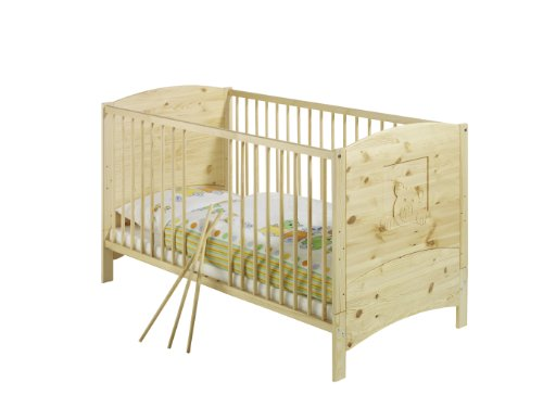 Schardt 041831903 Kombi-Kinderbett Dream, Massivholz Kiefer geölt, 70 x 140 cm