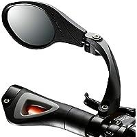 Koonard Rückspiegel für Fahrrad, Mountainbike, Rennrad, für den Lenker, flexibel, für mehr Sicherheit, für die linke Seite