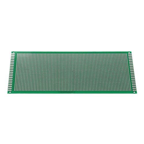 KINTRADE 10x22 cm Starke Spraydose Universalplatine Single/doppelseitig Prototyp-PCB-Universal-FR4-Experimentierplatine, verzinnt