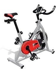 Vidaxl fitness bicicleta con pulsómetro