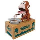 Choenbako Eating Monkey Piggy tirelire