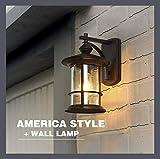 Hdmy American Postbox Außenwandleuchte Außenwandleuchte Laterne Außen Einfachen Balkon Wasserdichte Gang Wand Villa Dach Schaufenster Tür Beleuchtung