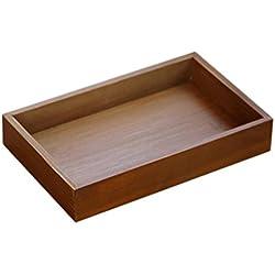 Bandejas de madera para cajón de Jungen. Medidas: 33x 24,5x 5,5cm.