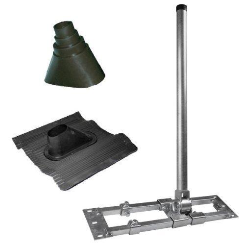 herkules-s48-130-kit-de-montage-pour-support-telescopique-en-acier-avec-manchon-universel-en-caoutch
