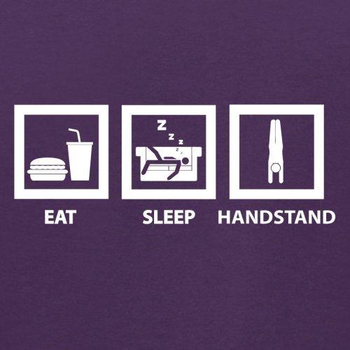 Eat Sleep Handstand - Herren T-Shirt - 13 Farben Lila