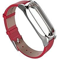 Armband für Xiaomi Mi Band 2, CICIYONER Mode Einfache elegante gemütliche PU-Leder Smart Armbanduhr Armband